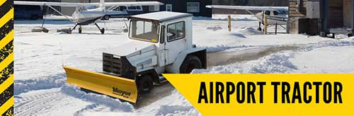 Meyer Airport Tractorr Snow Plow