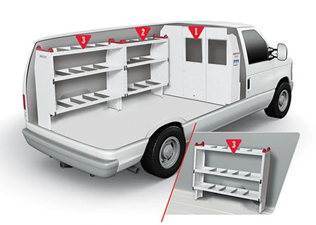 Weather Guard Basic Van Configuration