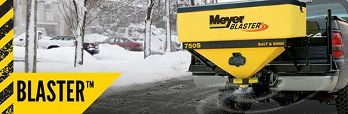 Meyer Anti-Icer Blaster Material Spreader