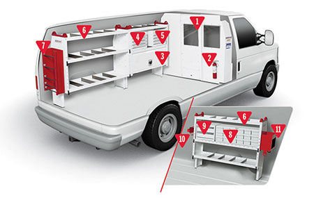 Weather Guard Contractor Van Configuration