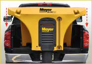 Meyer Crossfire Hopper in Truck Bed