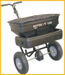 Meyer Hotshot-120 Walk Behind Material Spreader