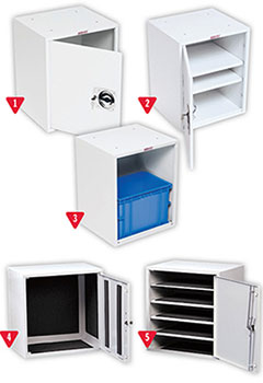 Weather Guard Locking Storage & CATV Cabinets