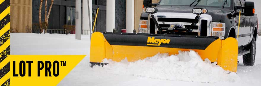 Meyer Lot Pro Snow Plow