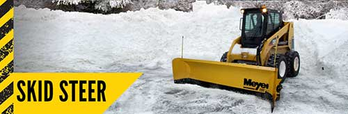 Meyer Skid Steer Snow Plow