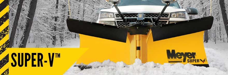 Meyer Super V Snow Plow